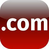 .com Red Icon