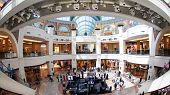 DUBAI, UAE - 12 December 2013: Mall of the Emirates in Dubai, UAE.