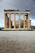 Erechtheum Is An Ancient Temple In Acropolis