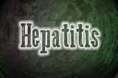 image of hepatitis  - Hepatitis Concept text on background sign idea - JPG