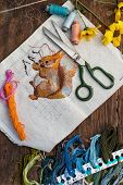 embroidery is the main type of needlework