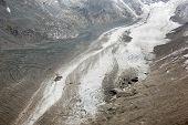 View of the Pasterze Glacier, Austria, Europe