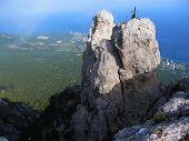 Top Of I-petri Hill, Crimea, Ukraine.