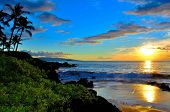Maui Beach Sunset