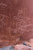 foto of valley fire  - ancient rock art in southern Nevada - JPG