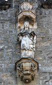 MARIJA BISTRICA, CROATIA - OCTOBER 26: Virgin Mary, basilica Assumption of the Virgin Mary in Marija Bistrica, Croatia, on October 26, 2013