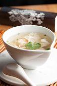 Thai Shrimp Wonton Soup