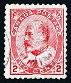Postage Stamp Canada 1903 King Edward Vii, Portrait