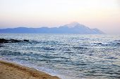 Mount Saint Athos In Greece