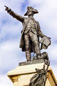 General Rochambeau Statue Lafayette Park Autumn Washington Dc