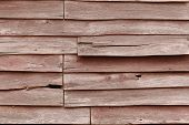 Cracked Wooden Wall