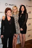 LOS ANGELES - MAR 14:  Kate Mulgrew, Taylor Schilling, Laura Prepon at the PaleyFEST -