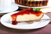 Slice Of Cheesecake