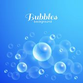 Air Bubbles Background