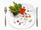 Food supplements vs healthy diet