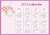 Baby Calendar For Girls