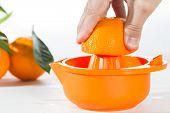 Orange Juice Squeezing