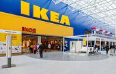 Ikea Samara Store. Ikea Is The World's Largest Furniture Retailer, Founded In Sweden In 1943