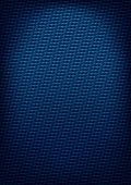 Blue carbon-style background