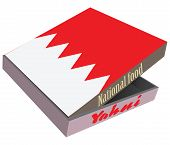 stock photo of bahrain  - National cuisine of Bahrain in packaging fast delivery - JPG