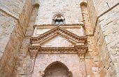 image of pilaster  - Castel del Monte of Andria - JPG