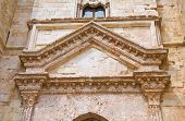picture of pilaster  - Castel del Monte of Andria - JPG