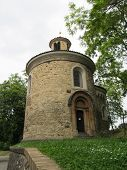 image of chapels  - small chapel in Prague near the middle of the Golden Gardens - JPG