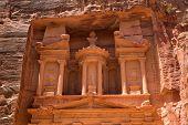picture of petra jordan  - Al Khazneh in Petra - JPG