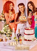 foto of hen party  - A lot of women  at hen - JPG