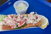 pic of lobster  - A traditional New England Lobster Roll Sandwich - JPG