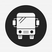 picture of bus driver  - Bus Icon - JPG