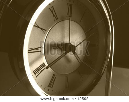 Old Clock poster
