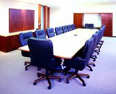 stock photo of business-office  - conference room for business office and company  - JPG