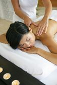 physiotherapist giving a massage