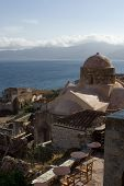 Old Town And Castle Of Monemvasia Greece poster