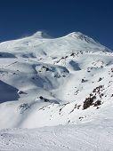 Elbrus. The Highest Mountain Of Europe. poster