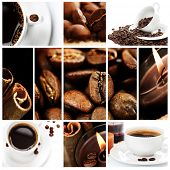 Beautiful Coffee Collage