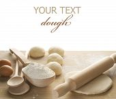 Dough for baking