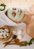 picture of face mask  - Spa Facial Mask - JPG