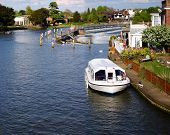 Thames Scene At Marlow