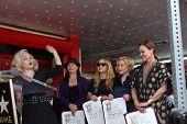 Los Angeles aug 11: Jane Wiedlin, der gehen gehen auf die Zeremonie für die Gogo 's Stern auf der Hollywo