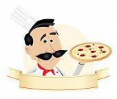 Chef Pizza Restaurant Banner