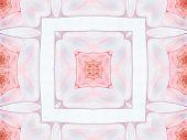 Fractal Abstact Background - Square Pattern Design