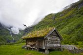 An old historic house in Norway