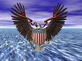 USA-Dichtung, e Pluribus Unum.