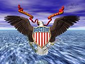 Us Great Seall, Pride And Freedom.