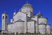 Cathedral Of The Resurrection Of Christ In Podgorica, Montenegro poster