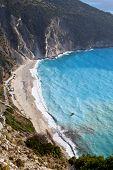 Mirtos beach at Kefalonia in Greece