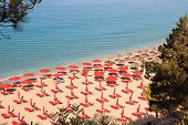 'Platis Gialos' beach at Kefalonia island in Greece