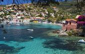 Fishing village of Assos at Kefalonia